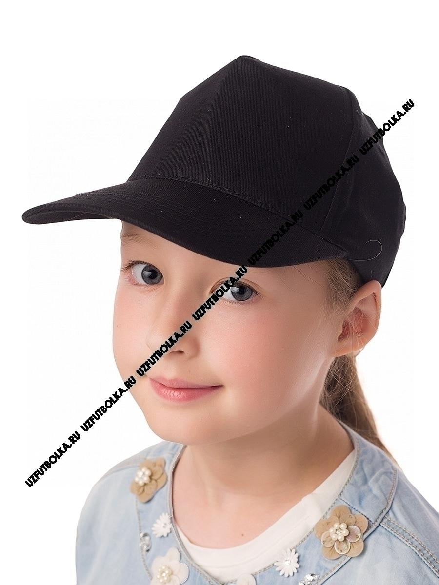 Бейсболка детская черная