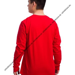Лонгслив мужской красный