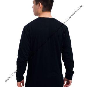 Лонгслив мужской черный