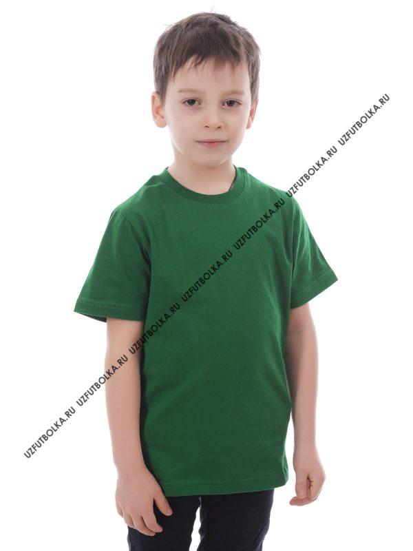 Футболка детская зелёная