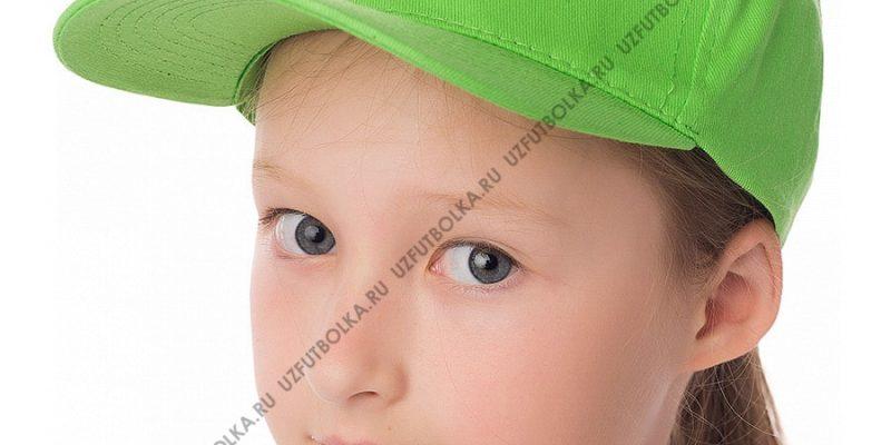 Бейсболка детская салатовая