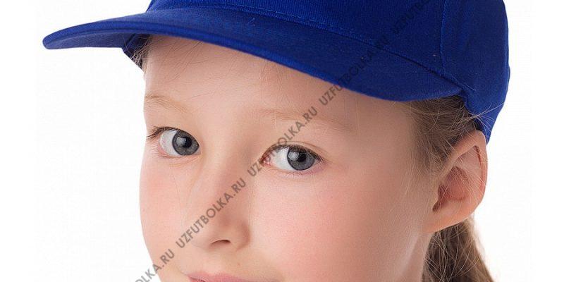 Бейсболка детская синяя