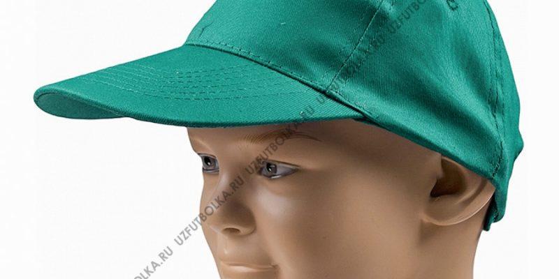 Бейсболка промо зеленая