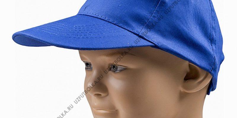 Бейсболка промо синяя