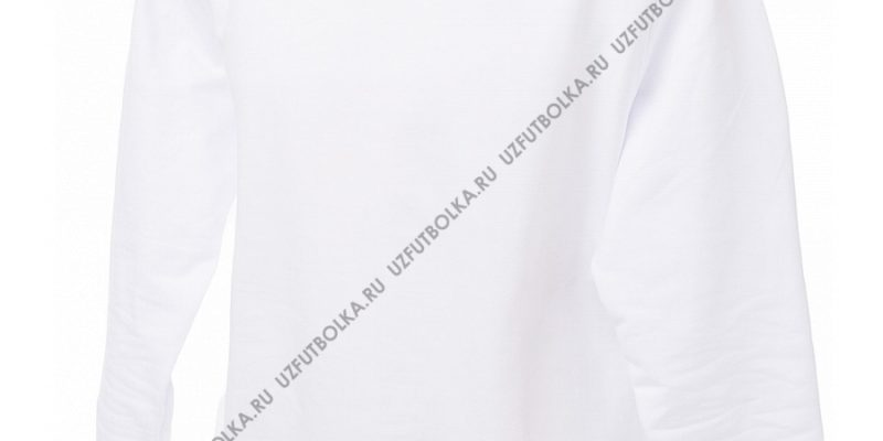 Промо свитшот белый