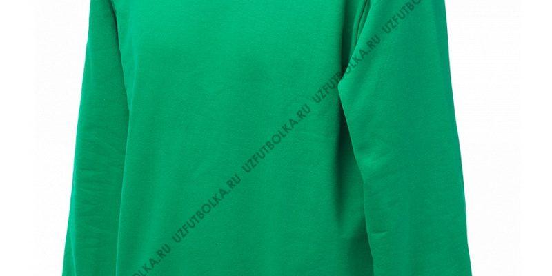 Промо свитшот зеленый