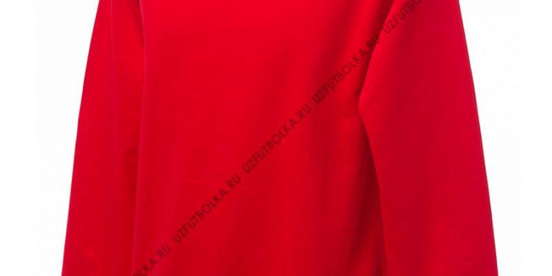 Промо свитшот красный