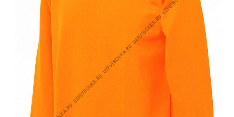 Промо свитшот оранжевый