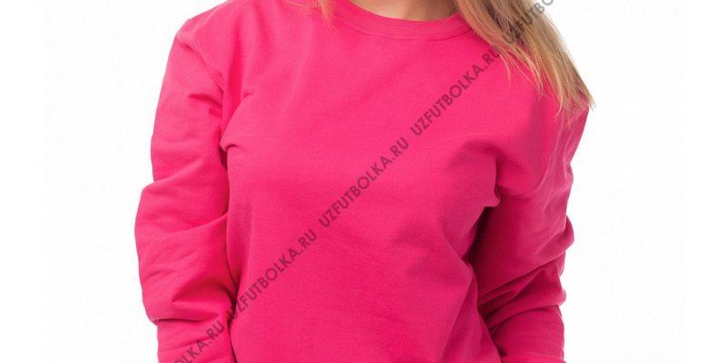 Женский свитшот розовый