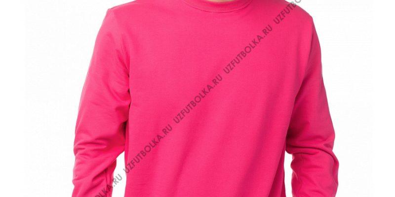 Мужской свитшот розовый