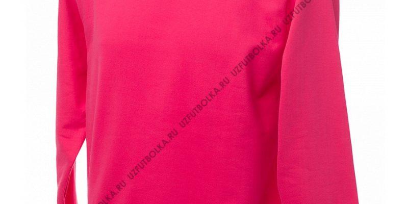 Промо свитшот розовый