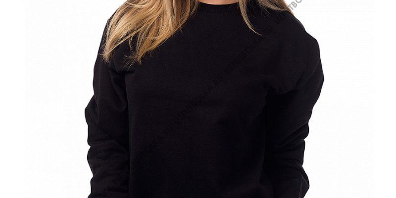 Женский свитшот черный