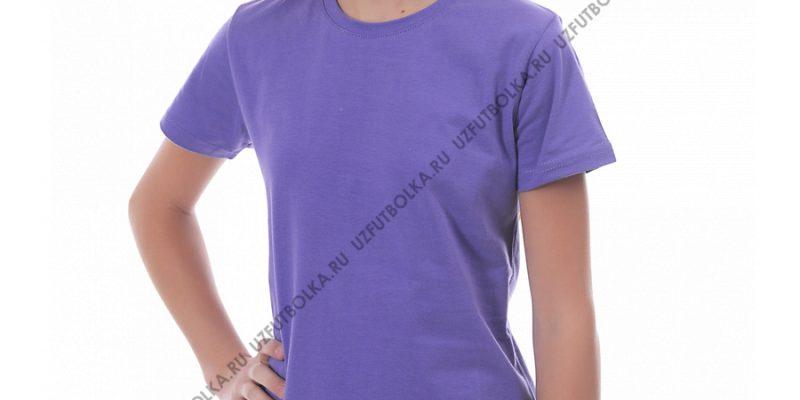 Футболка детская фиолетовая