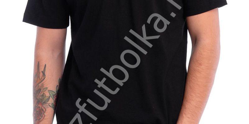Эконом промо футболка чёрная