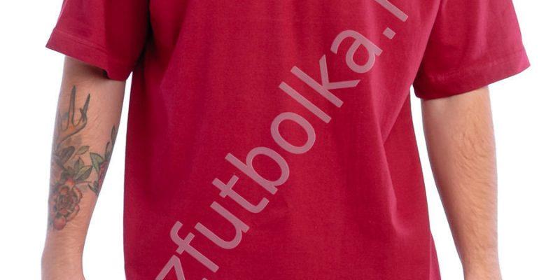 Эконом промо футболка красная