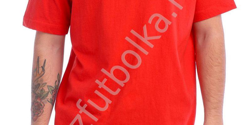 Эконом промо футболка оранжевая
