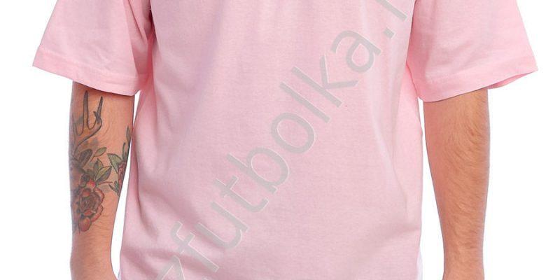 Эконом промо футболка розовая