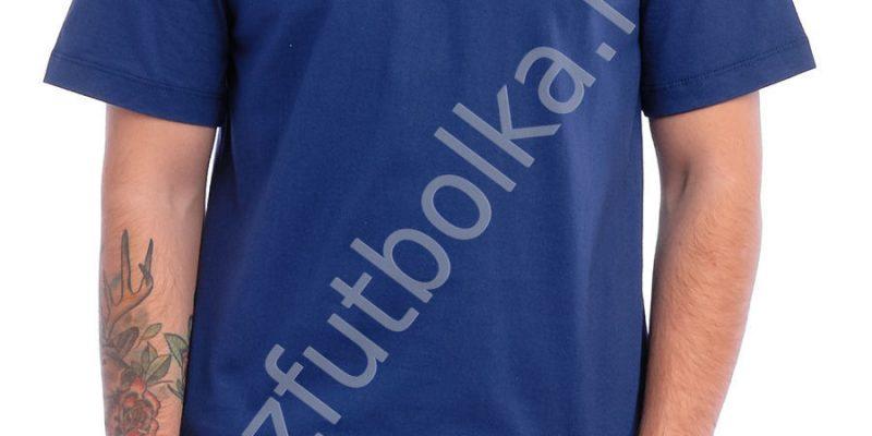 Эконом промо футболка синяя