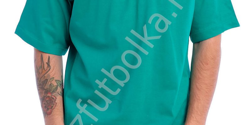 Эконом промо футболка зелёная