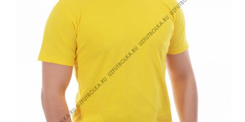 Футболка мужская лимон