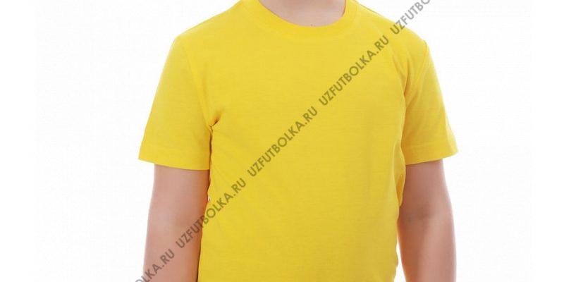 Футболка детская лимон