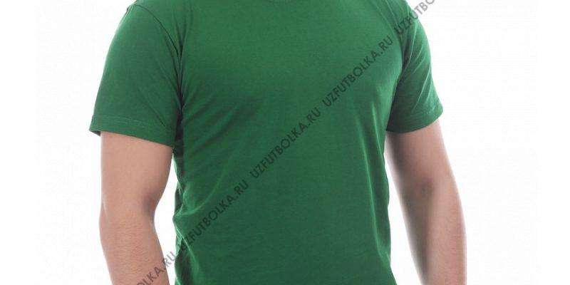 Футболка мужская зелёная