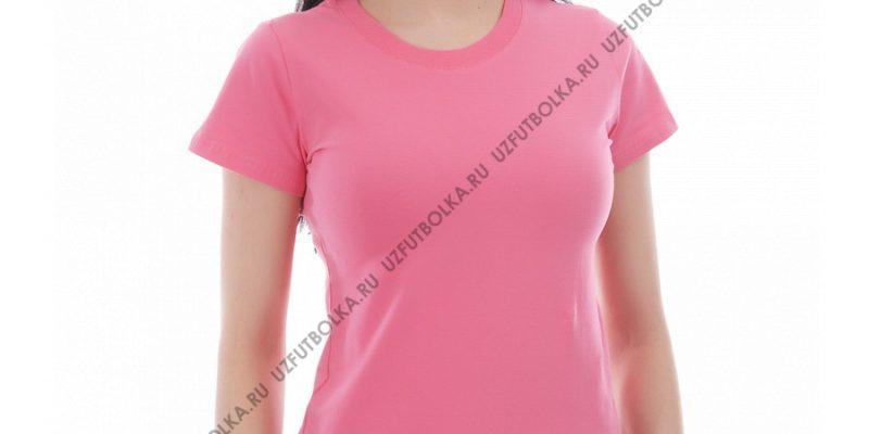 Футболка лайкра женская розовая