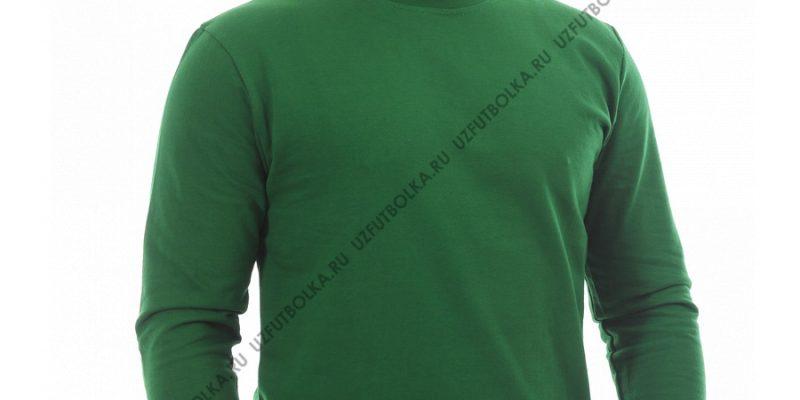 Свитшот мужской зелёный